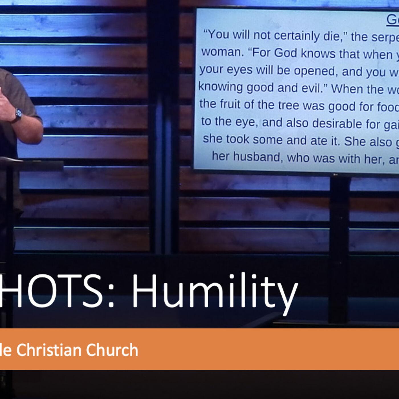Snapshots: Humility