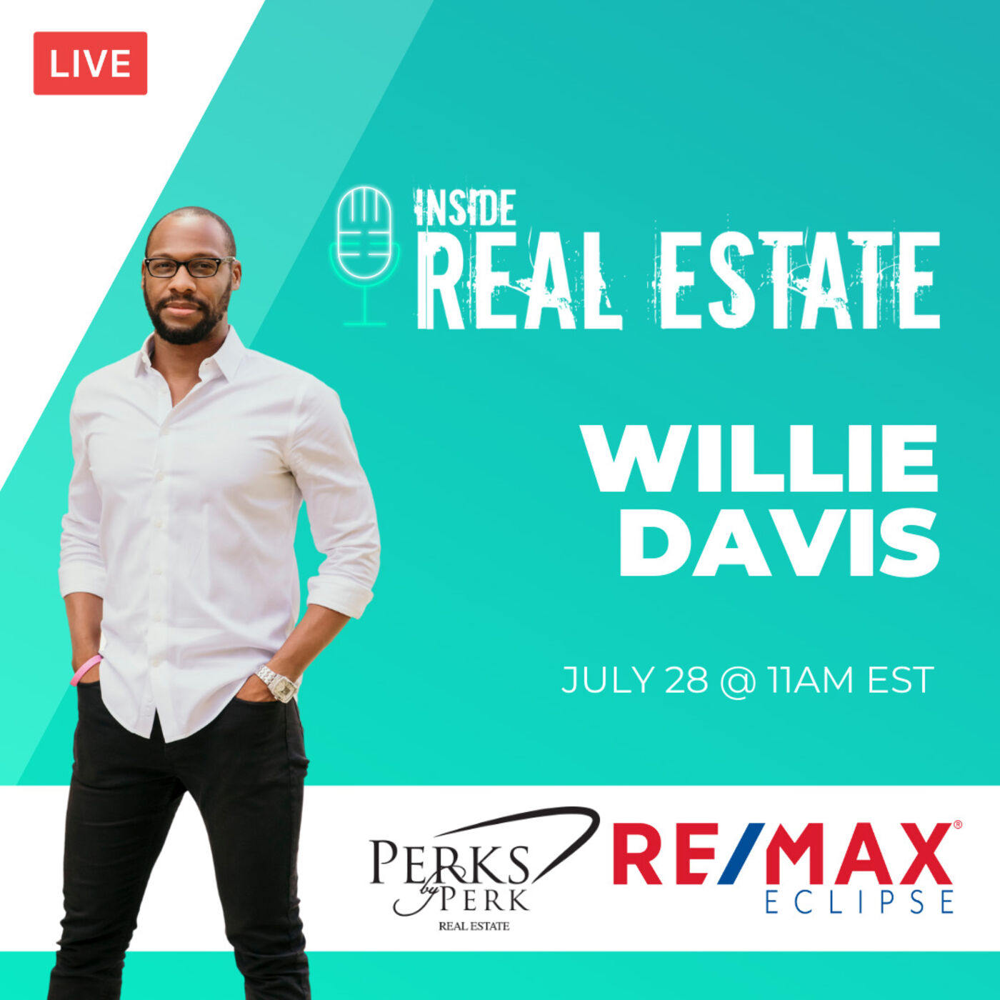 Willie Davis, Perks by Perk Real Estate, Re/Max Eclipse - Minorities, Market, and More
