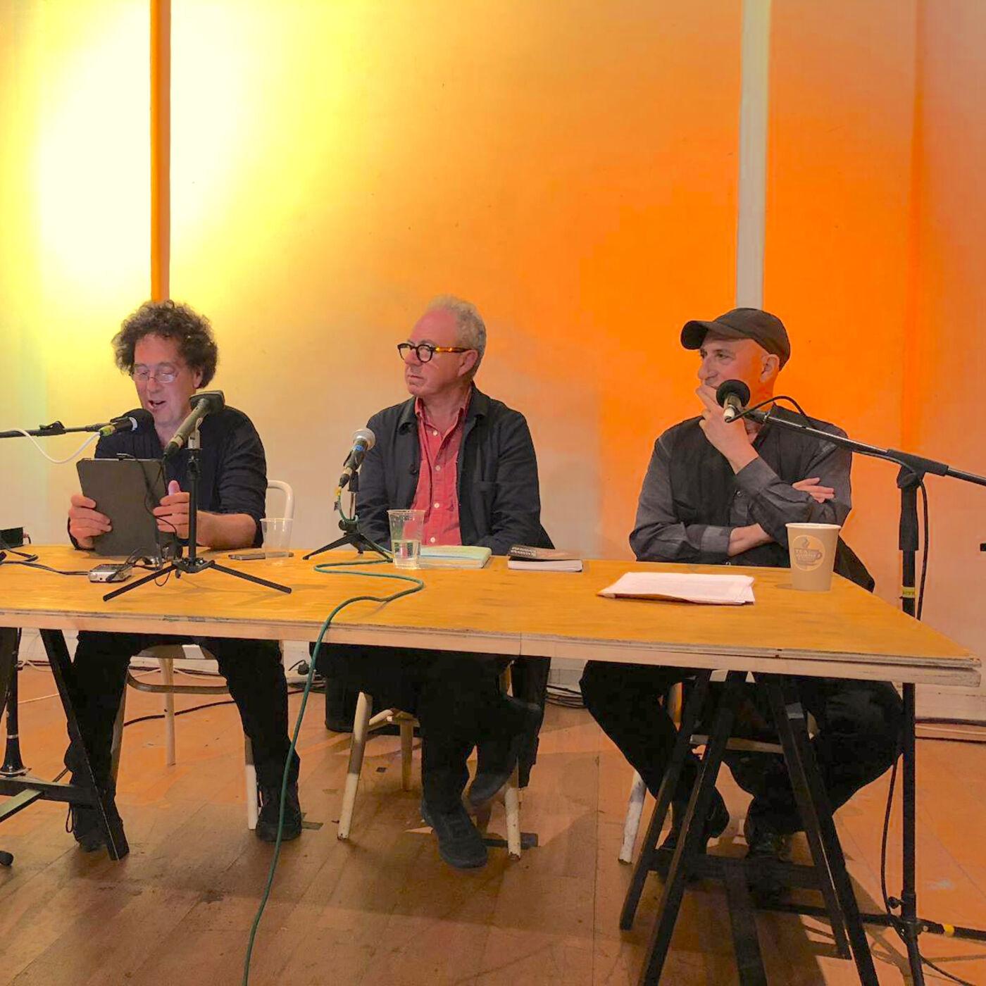 Elliott Sharp and David Rothenberg with Jem Finer