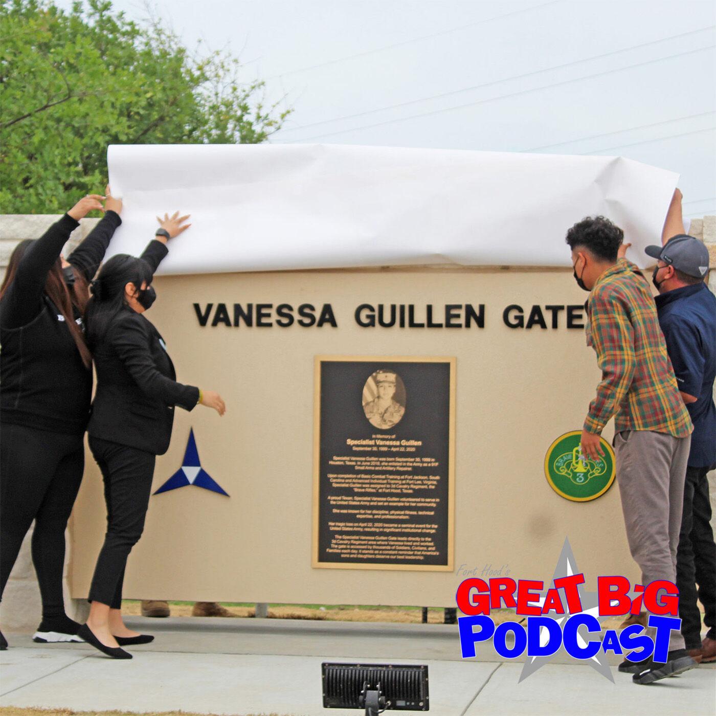 SPC Vanessa Guillen: Solemn, somber ceremony dedicates gate