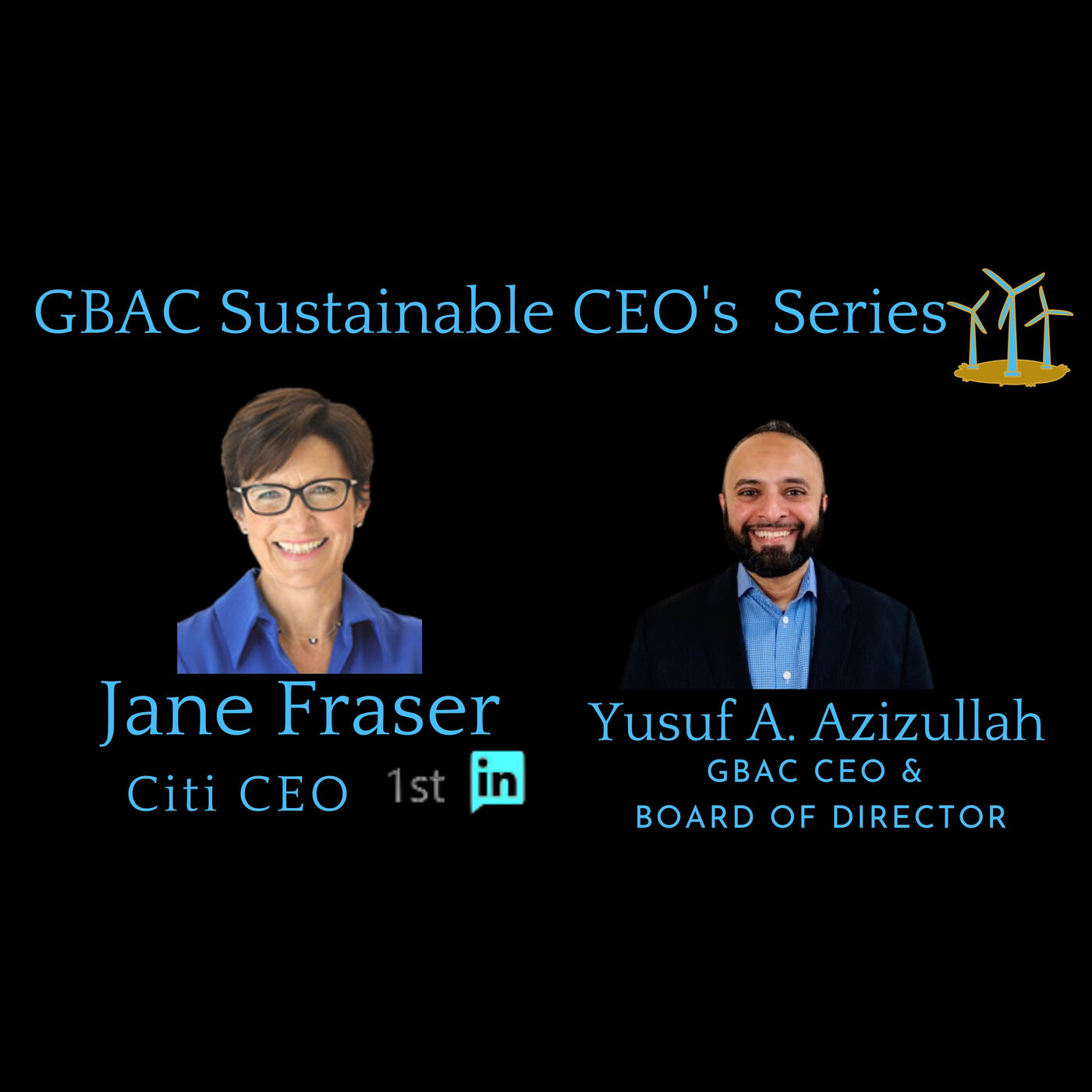 Jane Fraser Citi CEO, my Network GBAC Sustainable CEO Series