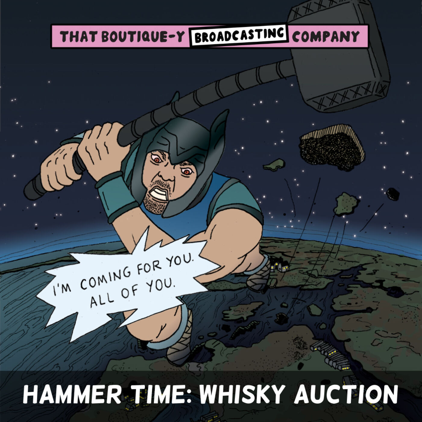 Batch 8: Hammer Time: Whisky Auction