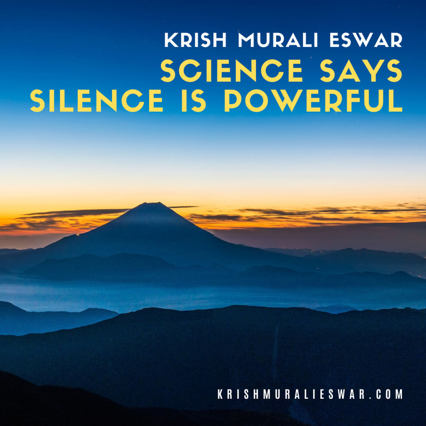 094 Science says SILENCE is Powerful