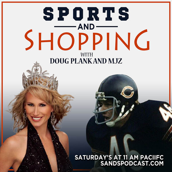 Sports and Shopping with Doug Plank Former Chicago Bears and Megan Former Mrs. Texas Podcast Artwork Image