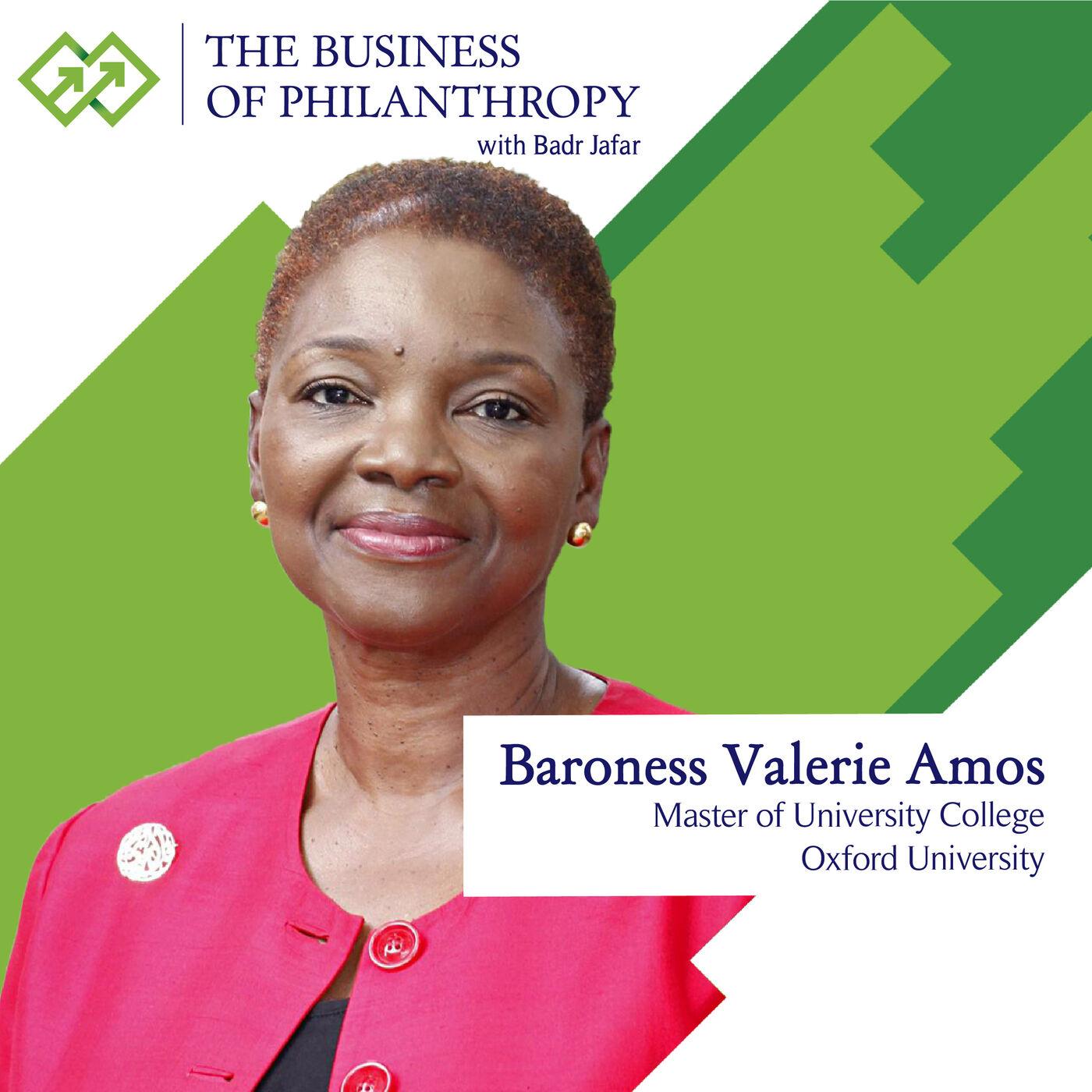 Baroness Valerie Amos; A Conversation with Badr Jafar