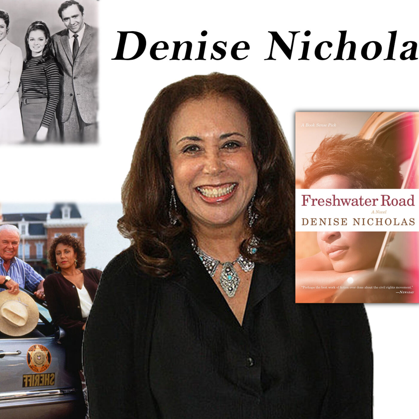 """Harvey Brownstone Interviews Actress and Bestselling Author of """"Freshwater Road"""", Denise Nicholas"""