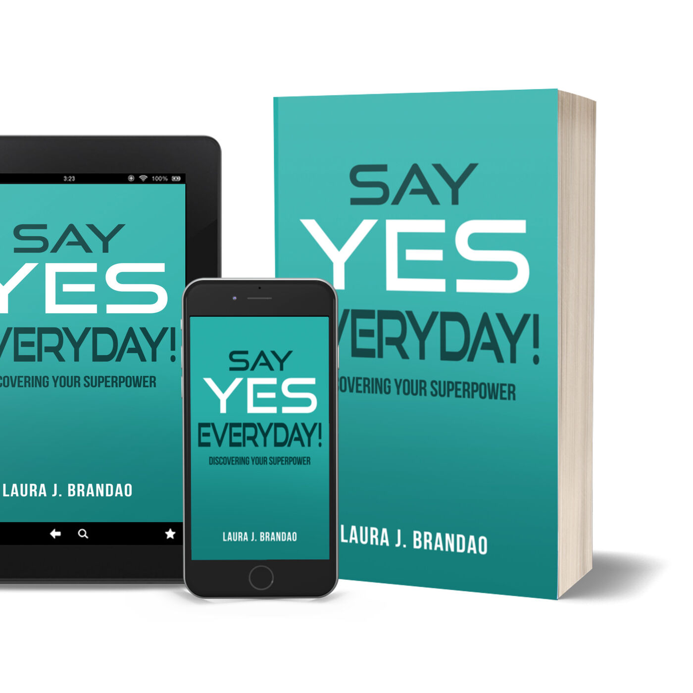Say Yes Everyday! Interview with Laura Brandao
