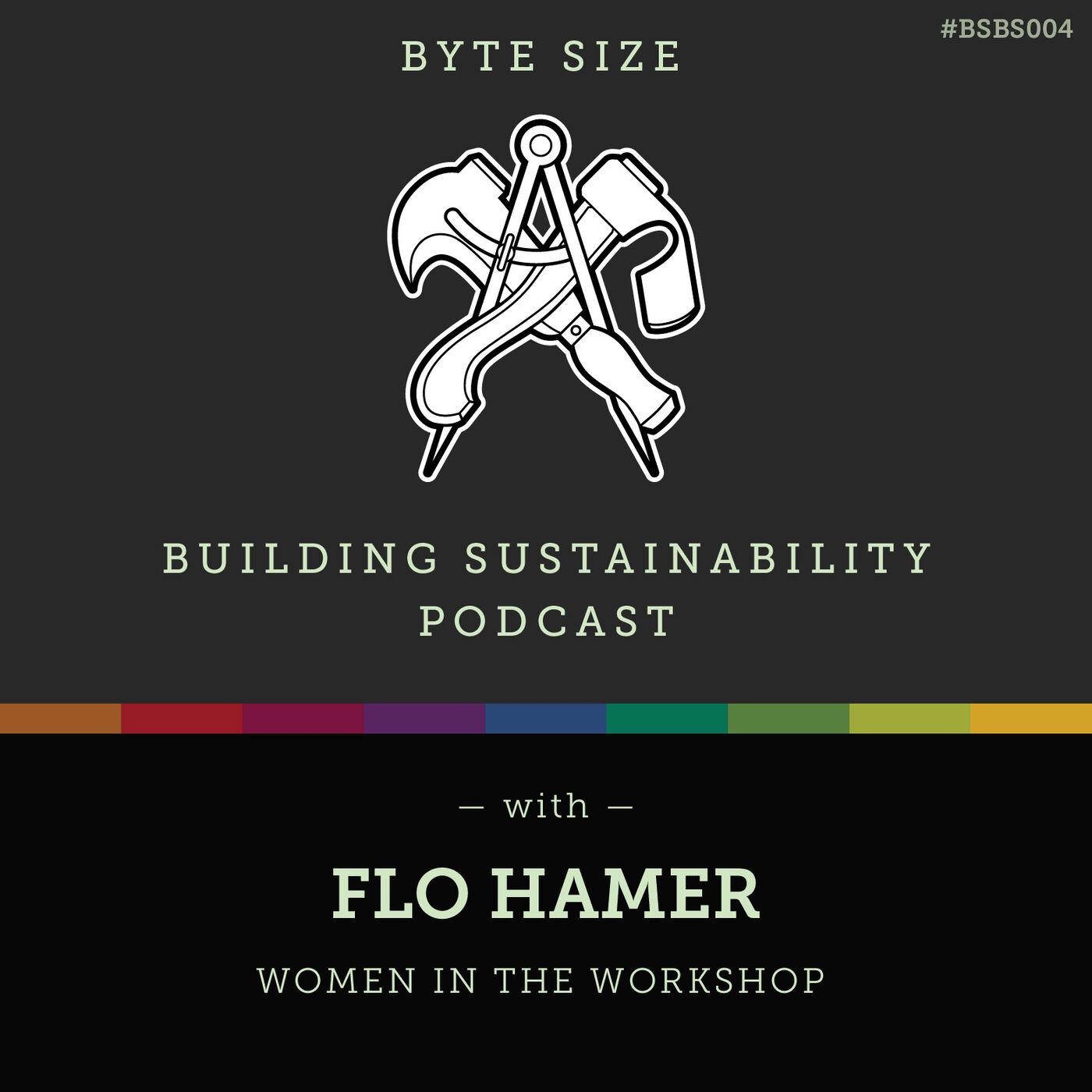 ByteSize - Women in the workshop - Flo Hamer - BSBS004