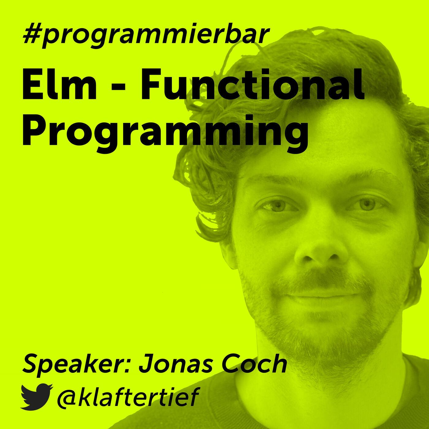 Folge 60 - Funktionale Programmierung in Elm mit Jonas Coch von itravel