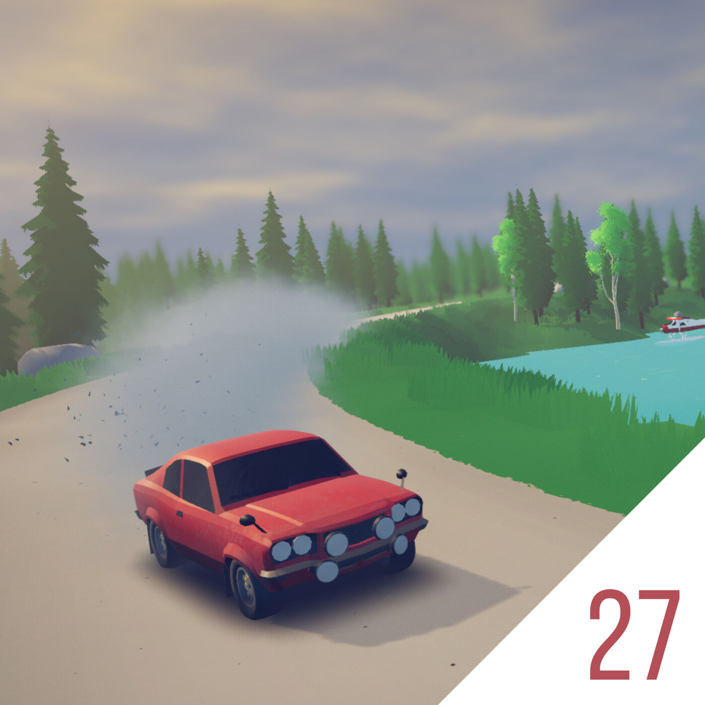 #27 Racing as Revelation in Art of Rally