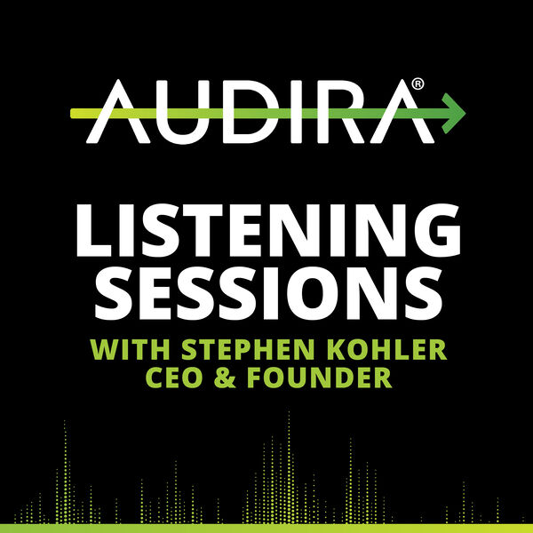 Audira Labs Listening Sessions Podcast Artwork Image