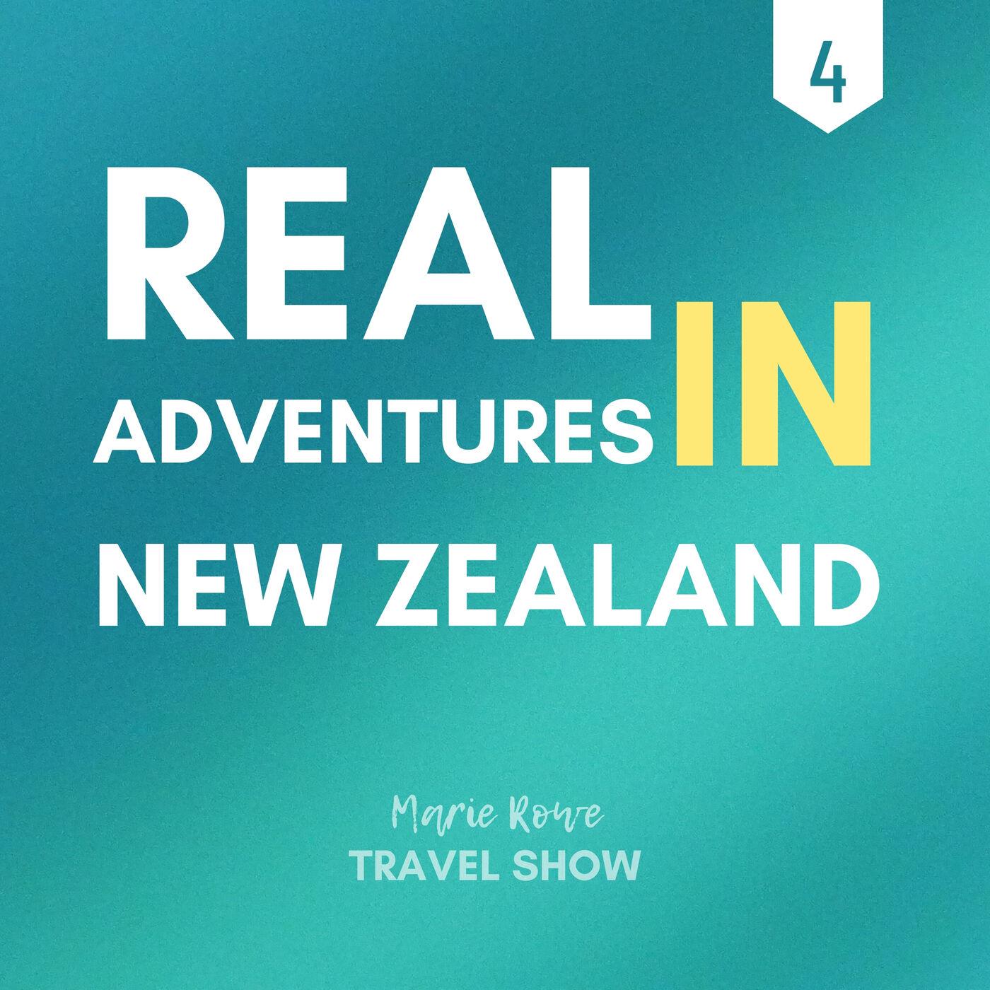KAYAKING IN GLOW WORM CAVES: ADVENTURES IN NEW ZEALAND