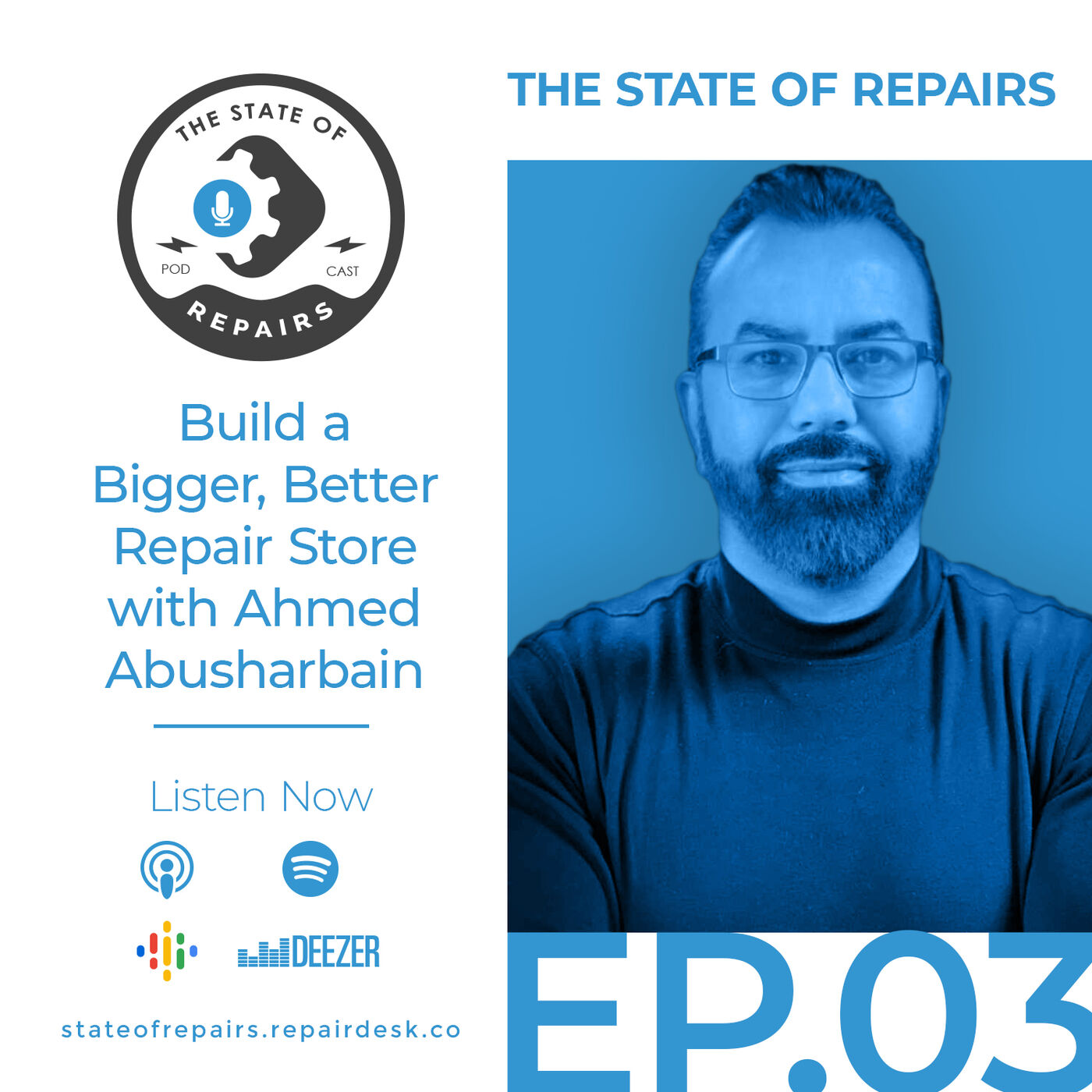 Episode 3 - Build a Bigger, Better Repair Store with Ahmed Abusharbain