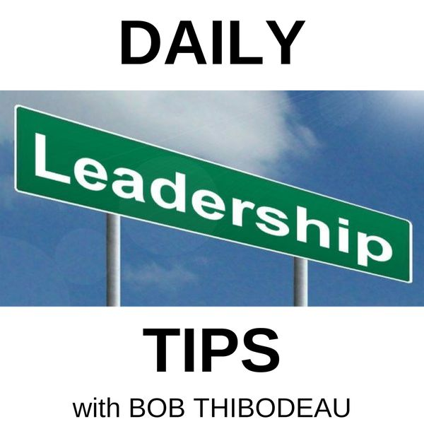 Daily Leadership Tips Podcast Artwork Image