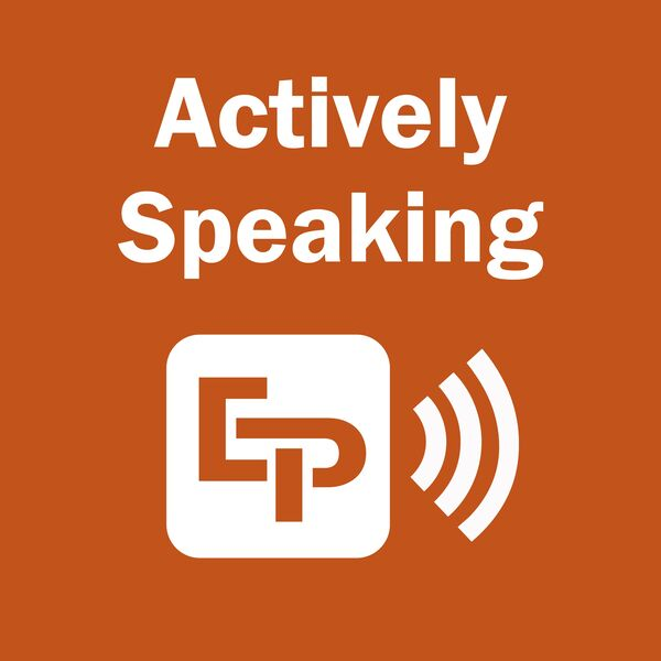 Actively Speaking Podcast Podcast Artwork Image