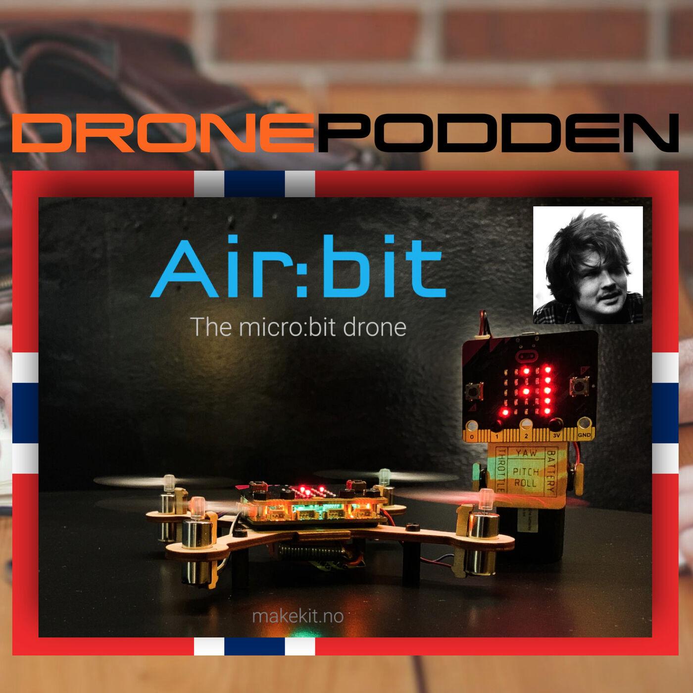 """Episode nr. 7 - Oppfinner og Drone Innovatør Hr. Henning Pedersen forteller om sitt """"KICK Starter"""" prosjekt."""