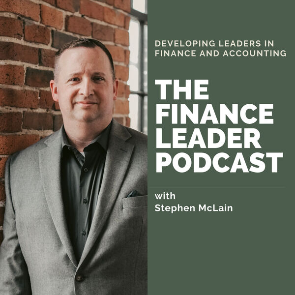 The Finance Leader Podcast Podcast Artwork Image