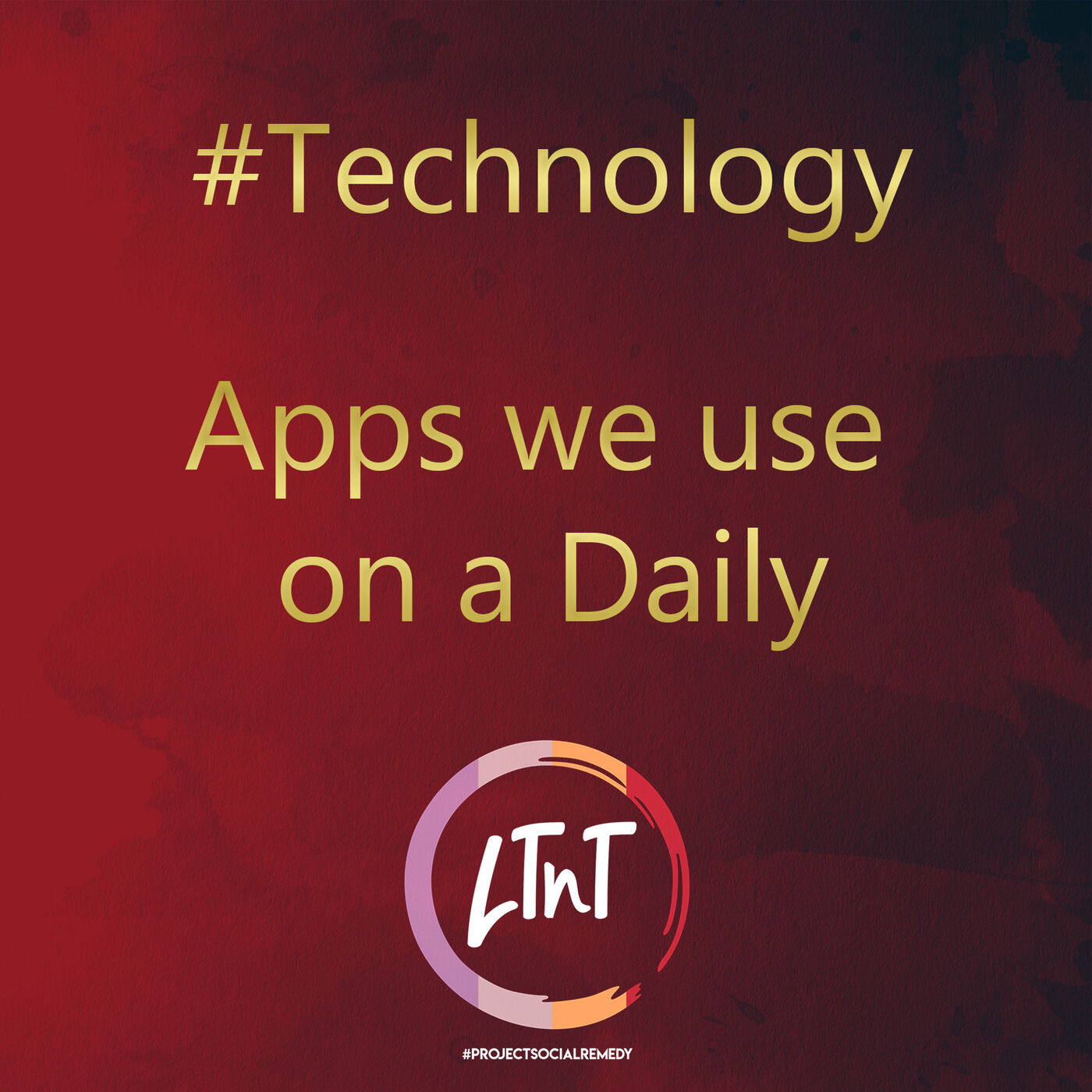 Apps we use on a daily