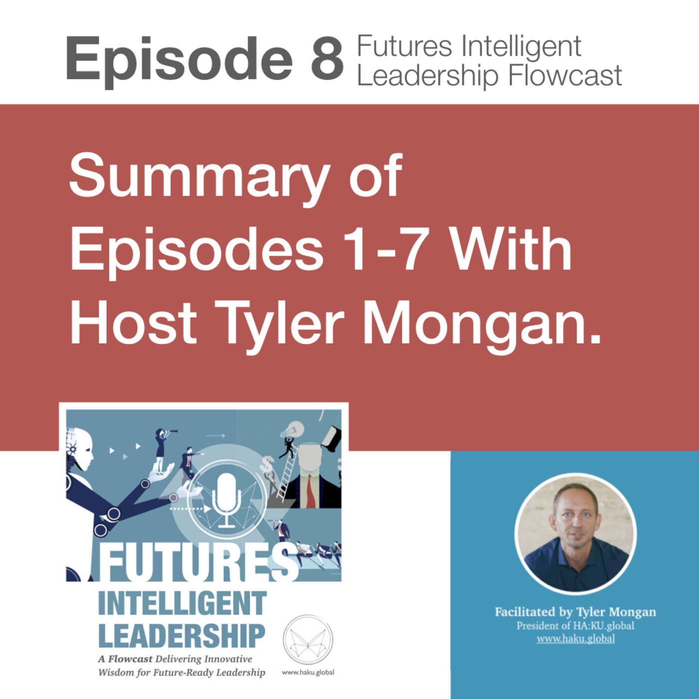 Episode 8: Summary of Episodes 1-7 with Host Tyler Mongan