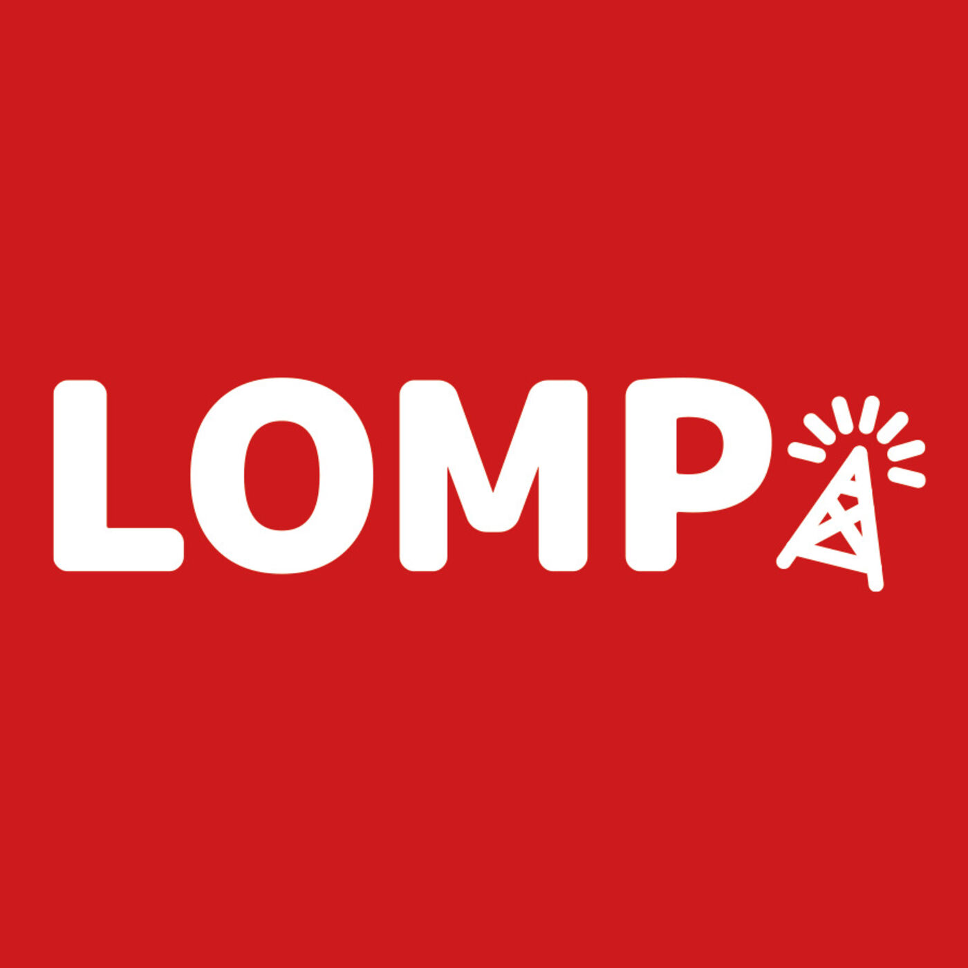 Lomp Podcast logo