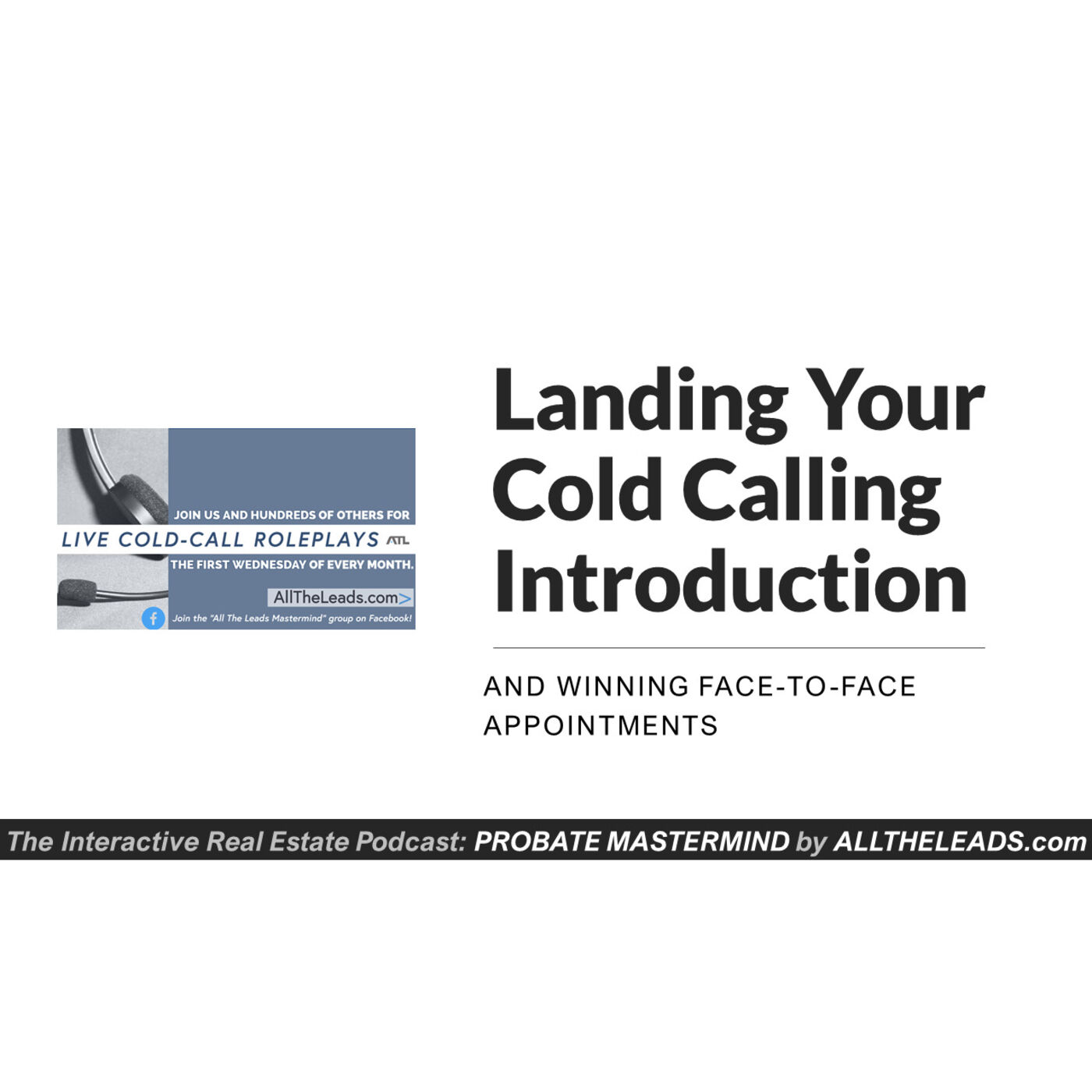 Real Estate Cold Calling Scripts: Live Probate Role Play Training #58
