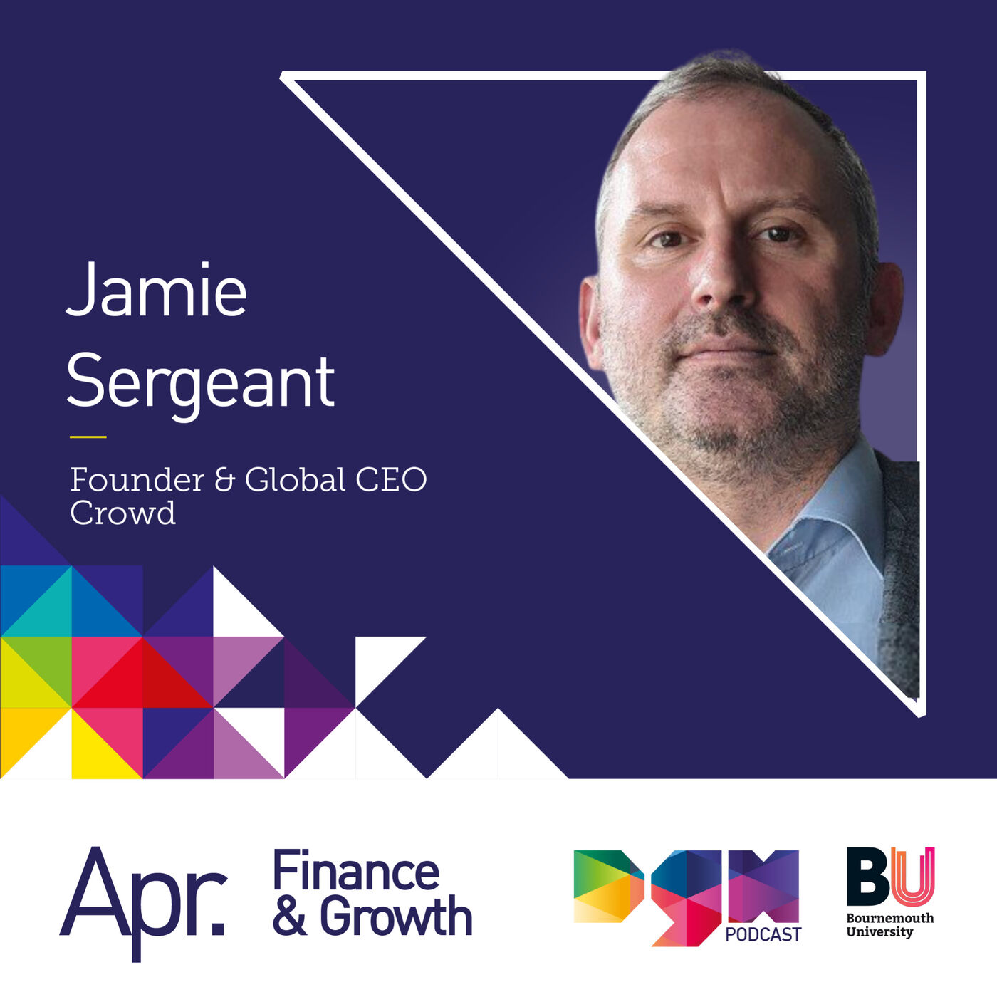 Achieving Global Growth with Founder & Global CEO at Crowd, Jamie Sergeant #S2E8