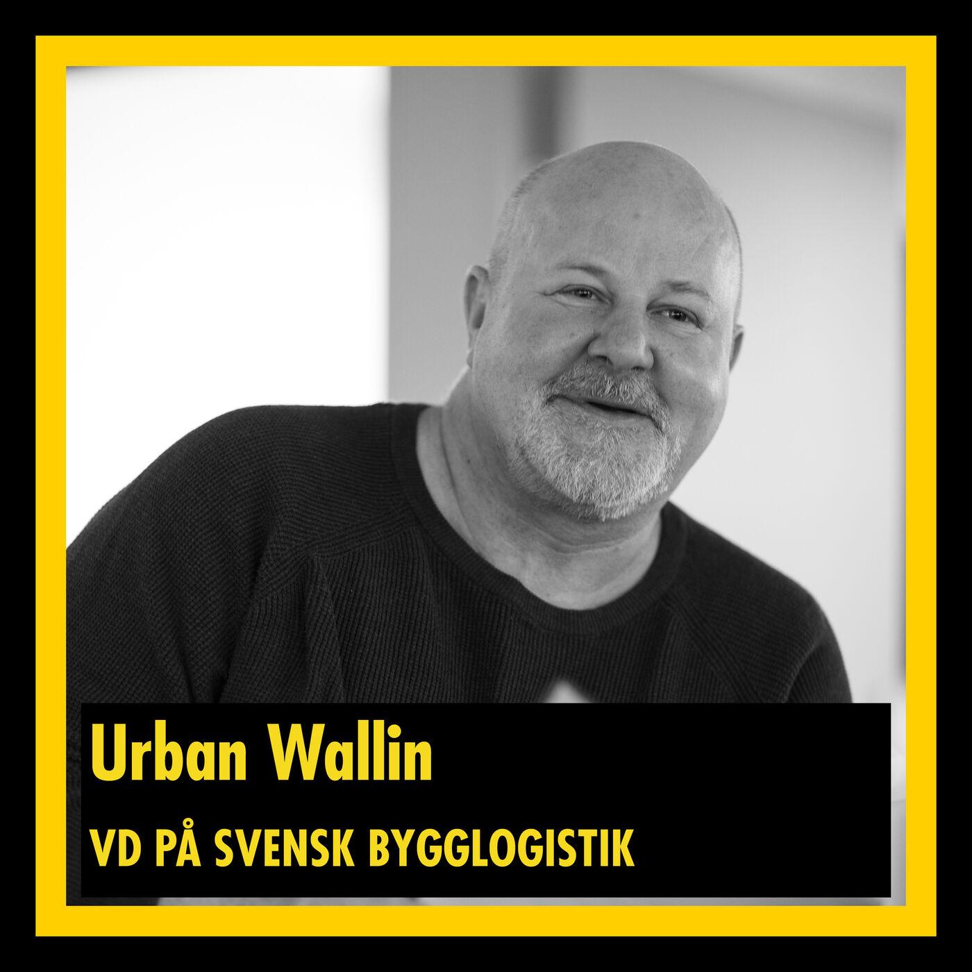 Urban Wallin - VD på Svensk Bygglogistik