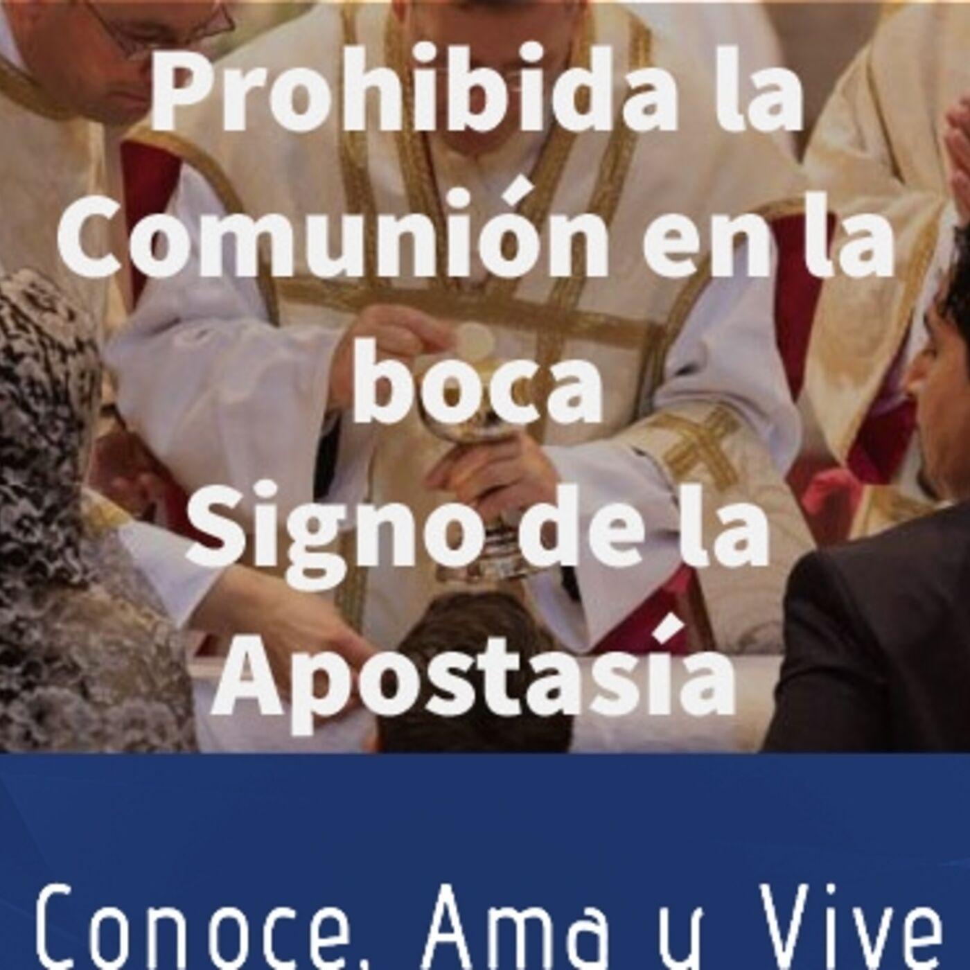 Episodio 251: 🚫 Prohibida la Comunión en la Boca 😢 Signo de la Apostasía 😱