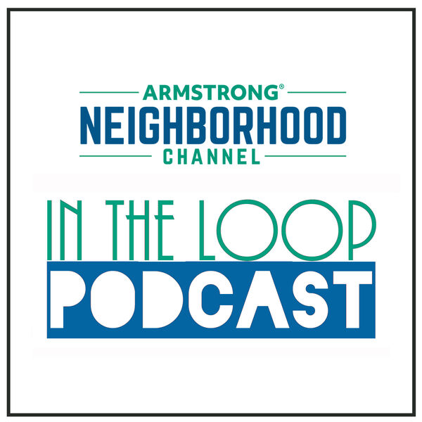"""Armstrong """"In The Loop Podcast"""" Podcast Artwork Image"""