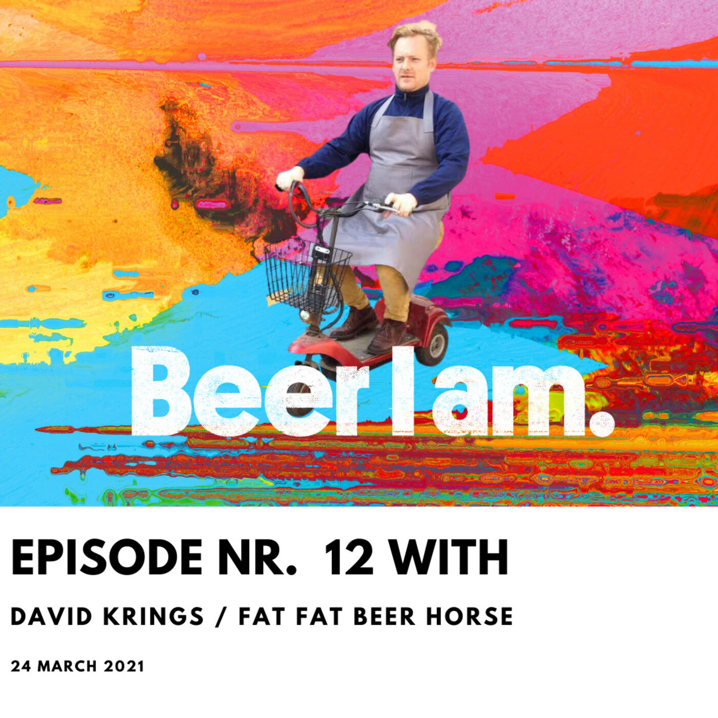 BEER I AM Podcast Nr. 12 David Krings / Product Design & FAT FAT BEER HORSE
