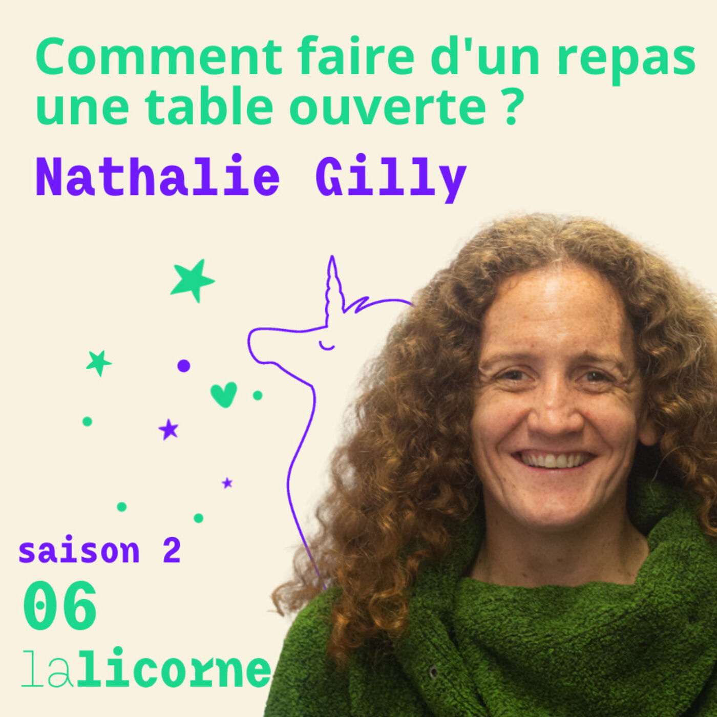 2.6 🏡 Nathalie Gilly - Comment faire d'un repas une table ouverte ?