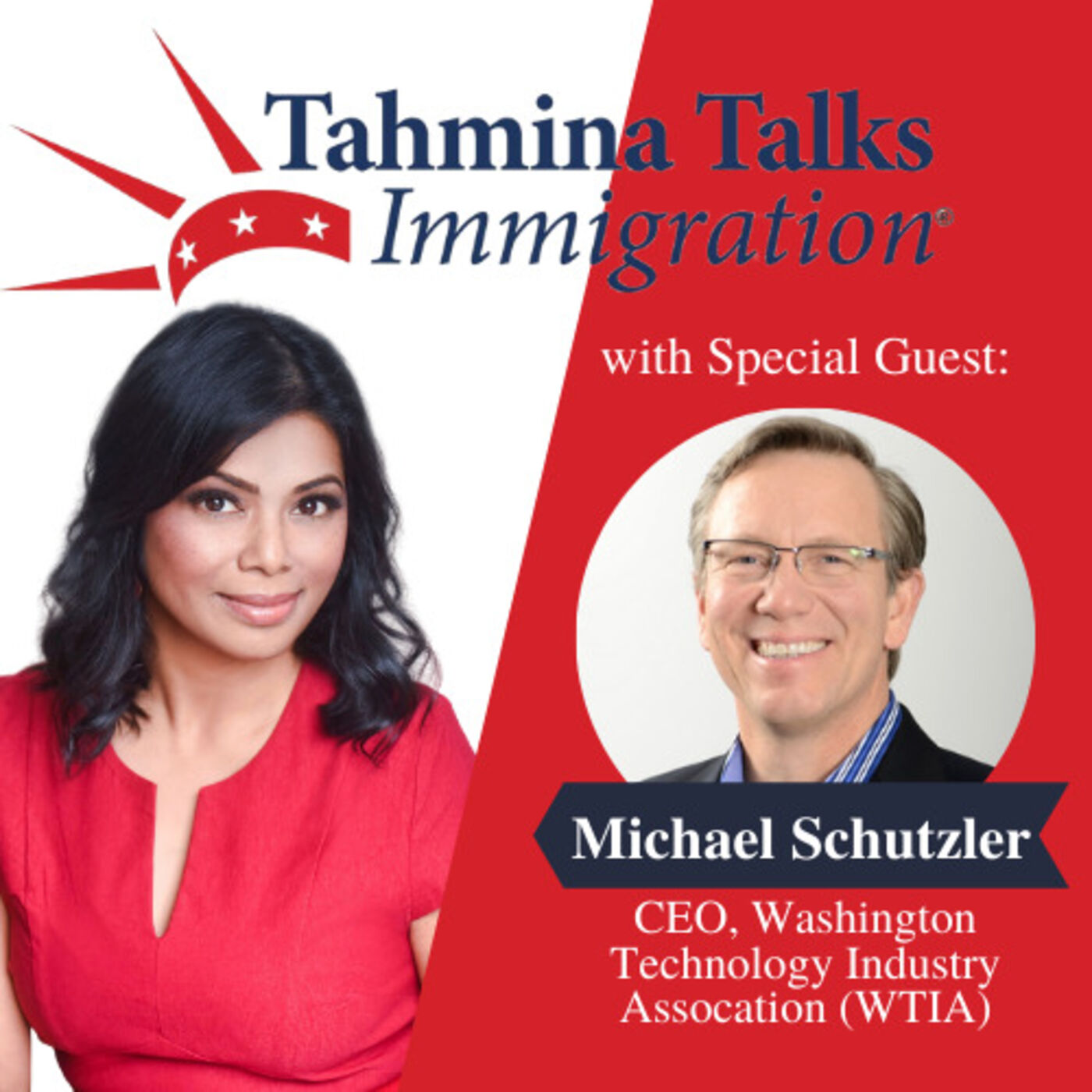 #119 Startup Visa Series - Michael Schutzler, CEO, Washington Technology Industry Association