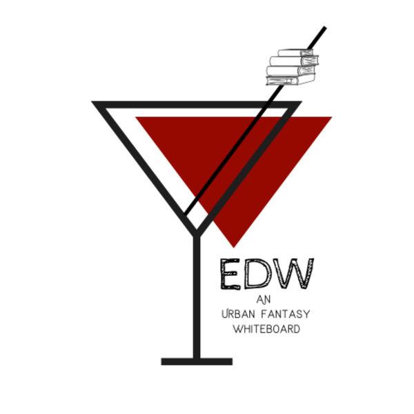 Eat, Drink, Write. An Urban Fantasy Whiteboard Podcast Artwork Image