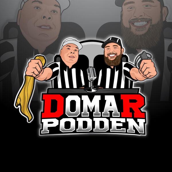 Domarpodden Podcast Artwork Image