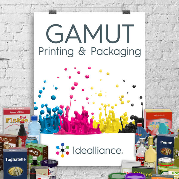 GAMUT: Idealliance Printing & Packaging Podcast Podcast Artwork Image