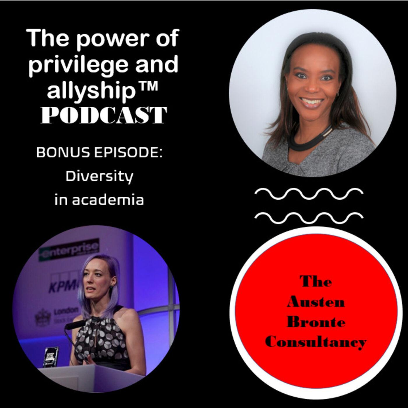S1 BONUS EPISODE: Diversity in academia feat. Dr. Naomi Thompson