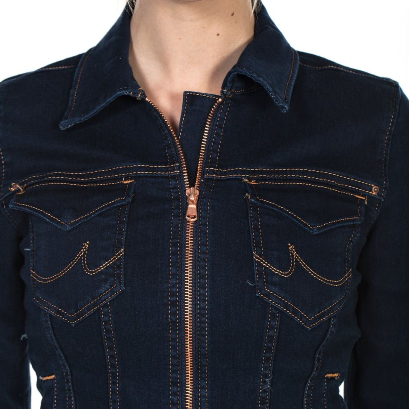 Zipping Up a Jacket