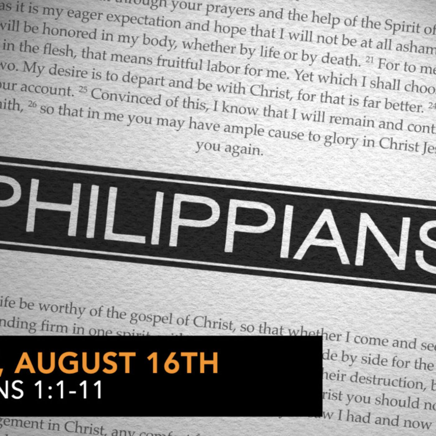 Philippians 1:1-11