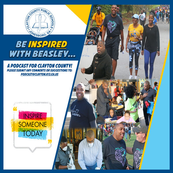 Be Inspired with Beasley: A Podcast for Clayton County! Podcast Artwork Image