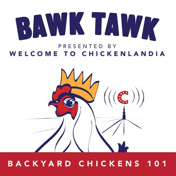 Bawk Tawk! Welcome to Chickenlandia's 100% Friendly Chicken Show Podcast Artwork Image