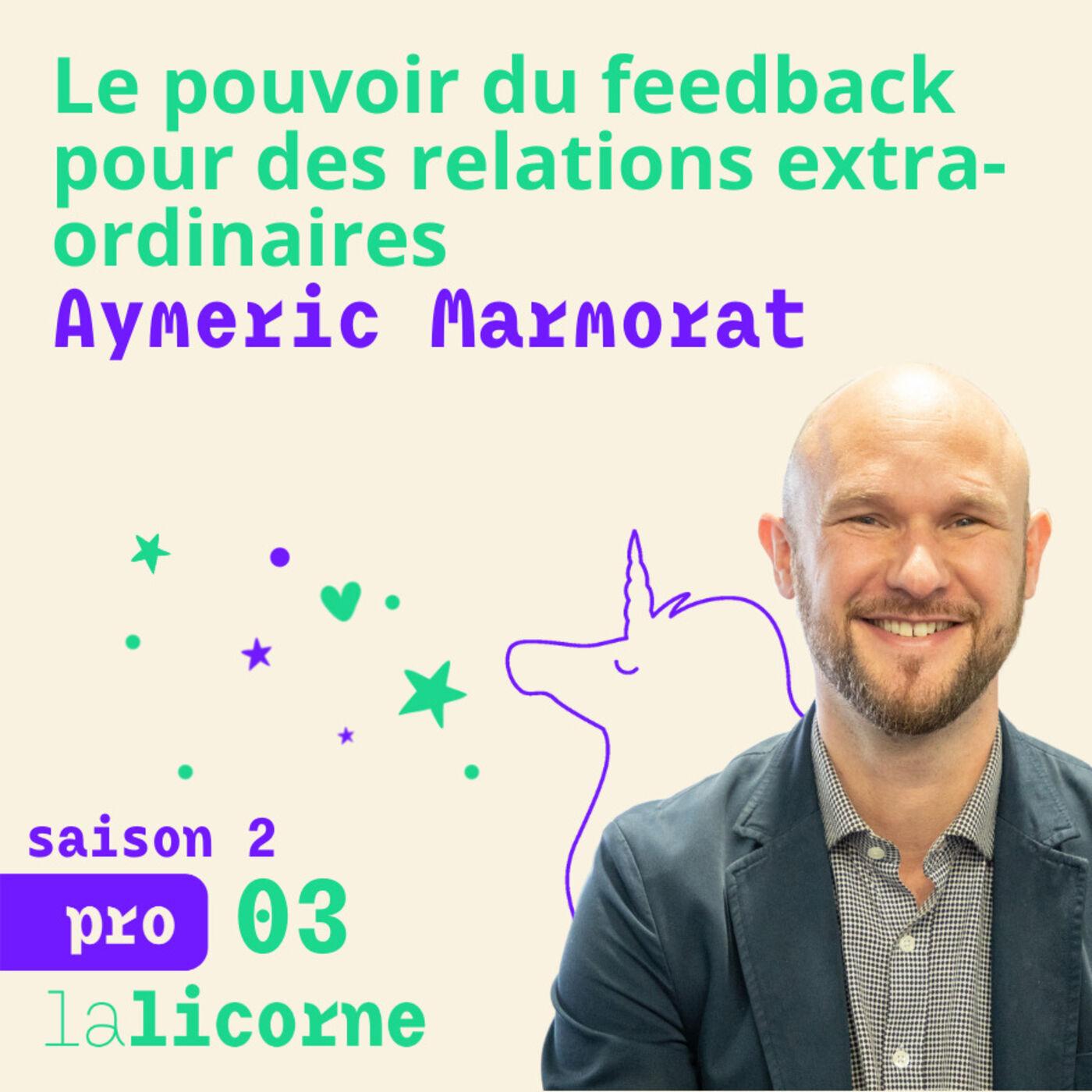 2.3 💌 Aymeric Marmorat - Le pouvoir du feedback pour des relations extra-ordinaires