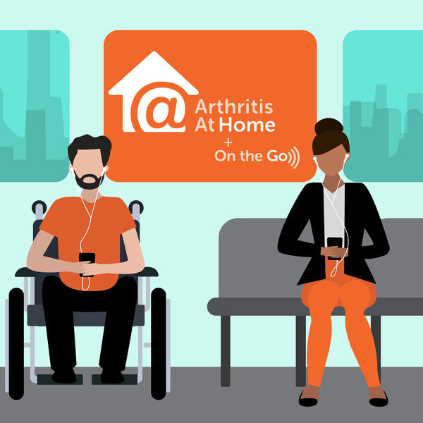 Arthritis At Home (+ On the Go) Podcast Artwork Image