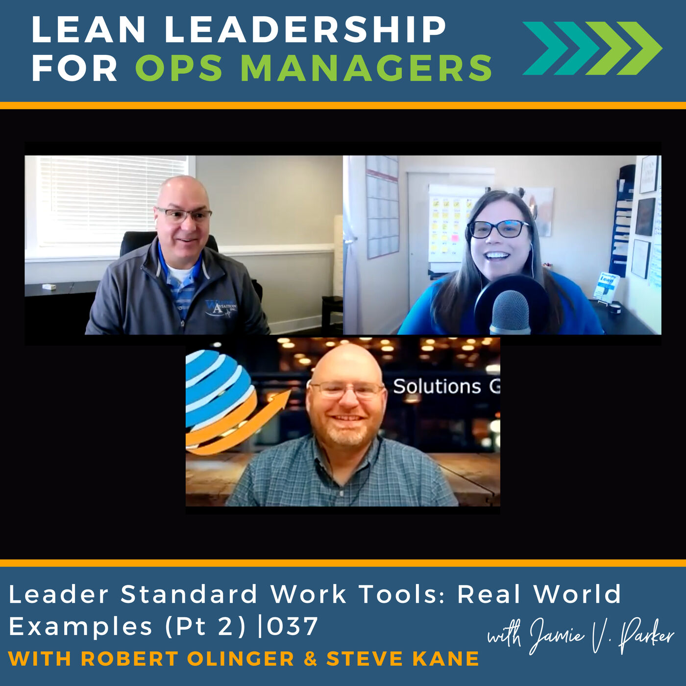 Leader Standard Work Tools: Real-World Examples (Part 2) With Robert Olinger and Steve Kane   037