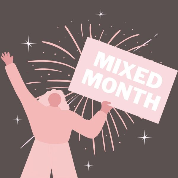 Mixed Month Podcast Artwork Image