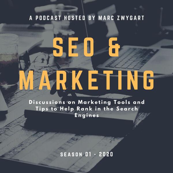 SEO and Digital Marketing Trends Podcast Artwork Image