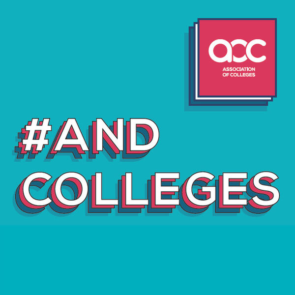 #AndColleges Podcast Artwork Image