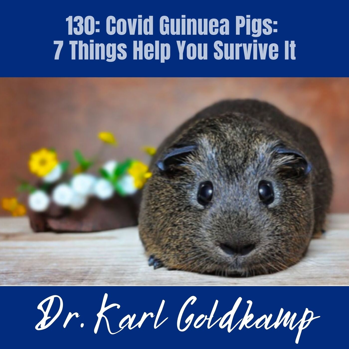130: Covid Guinuea Pigs: 7 Things Help You Survive It