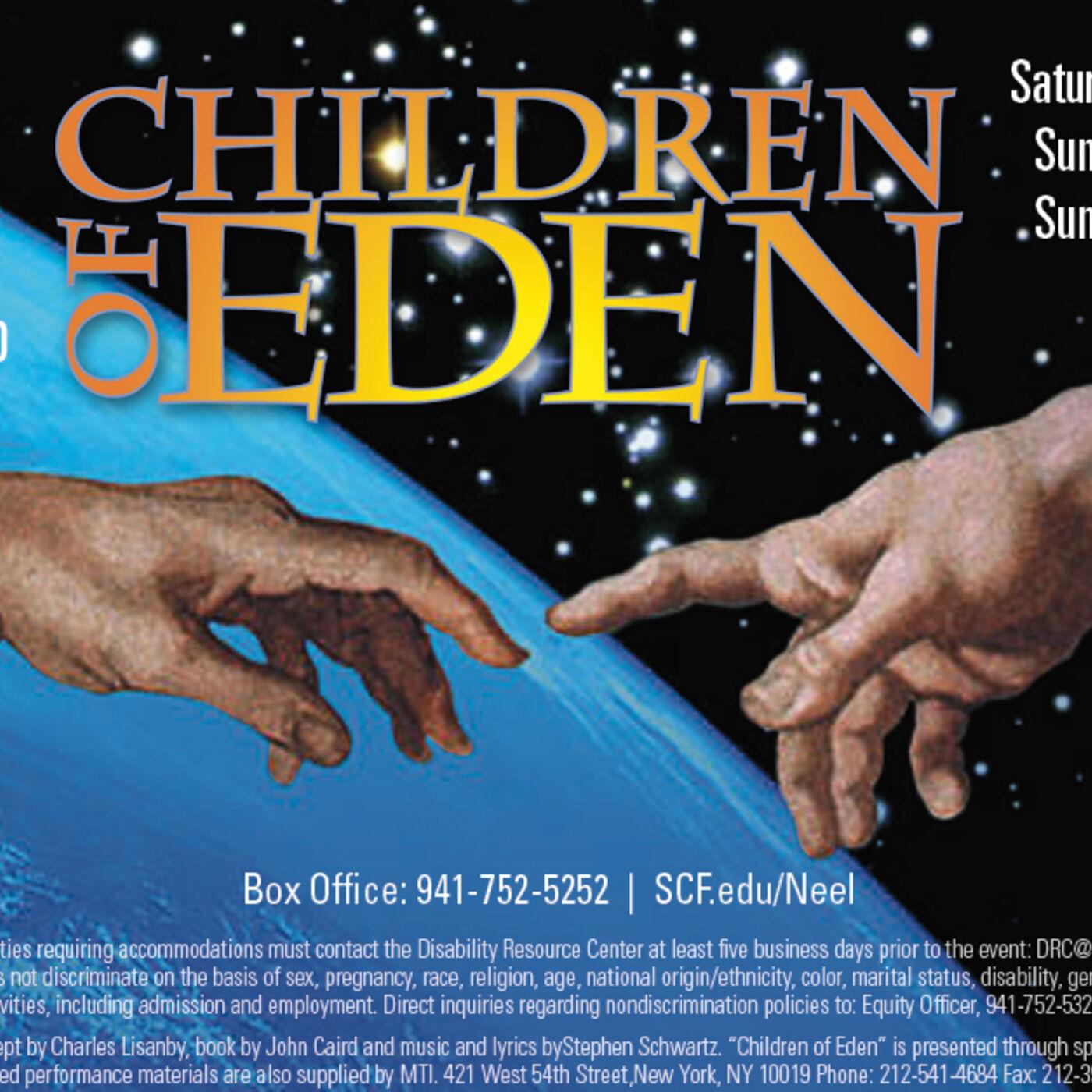 The SCF Musical Theatre Ensemble Presents Stephen Schwartz's Children of Eden