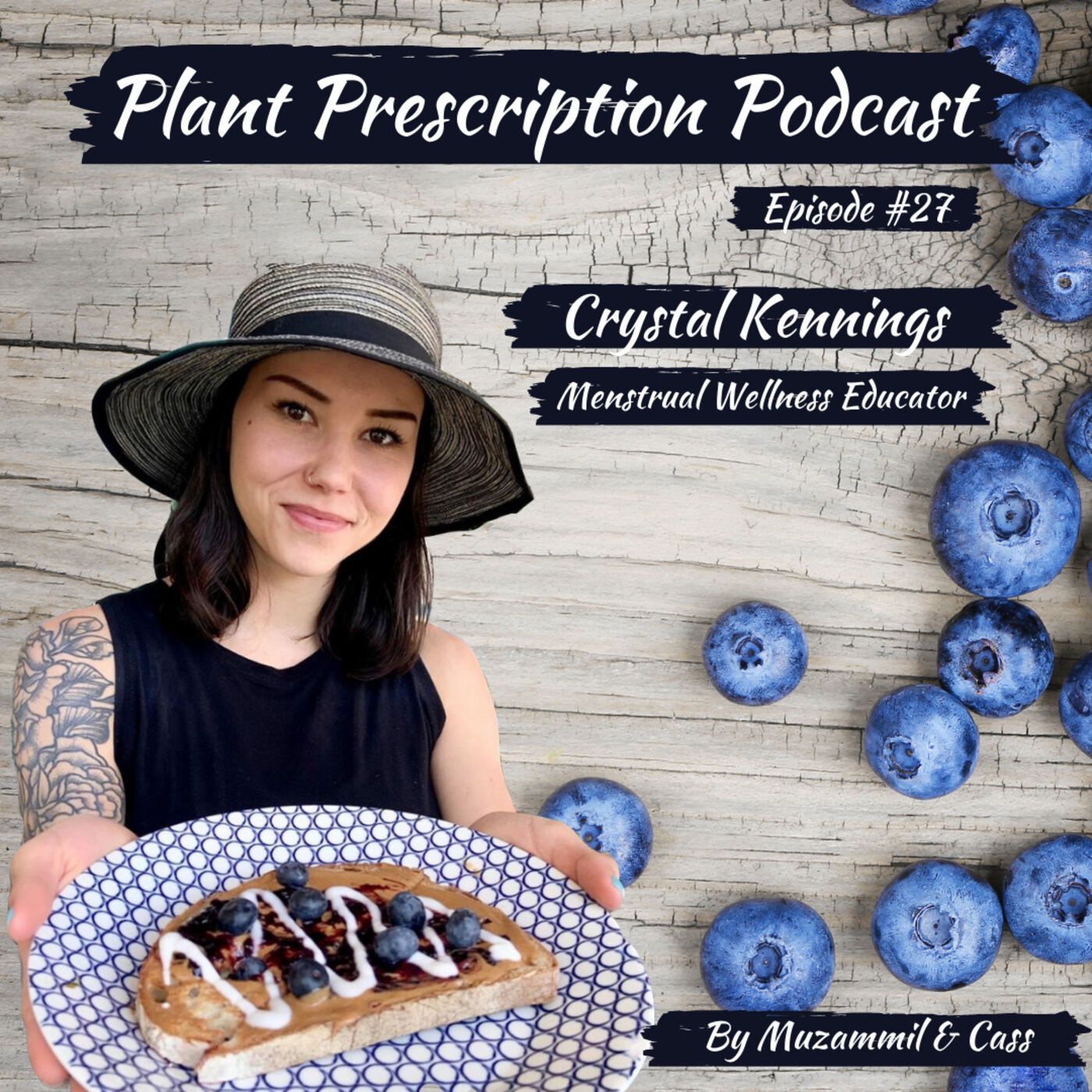 Menstrual health, period loss and the role of diet with Crystal Kennings