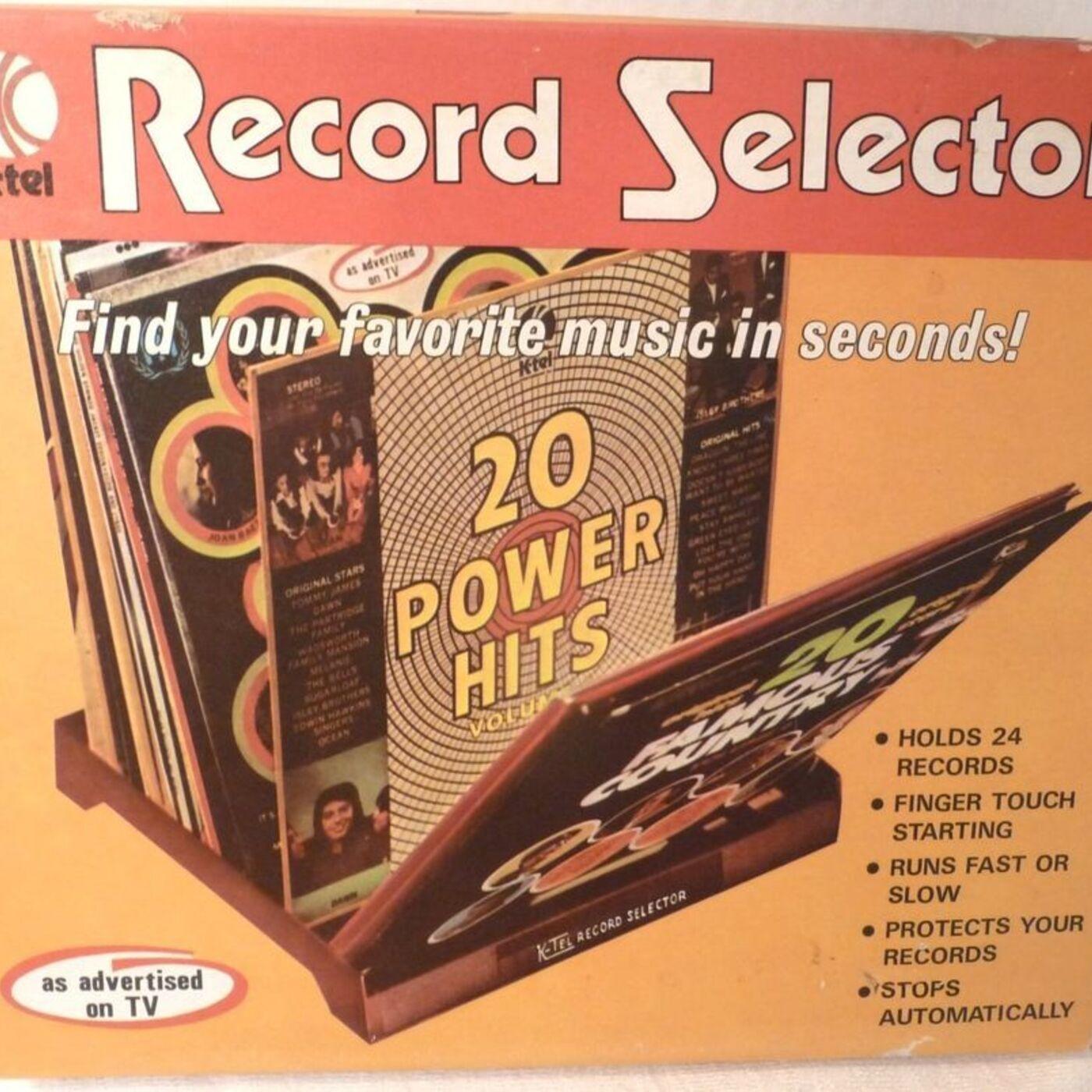 ALL ORIGINAL STARS! ALL ORIGINAL HITS! K-Tel Part 2: The Records!